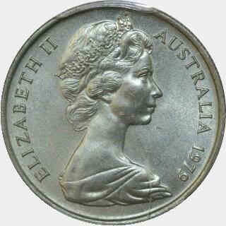 1979  Five Cent obverse