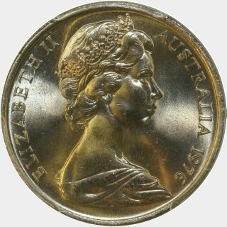 1976  Ten Cent obverse