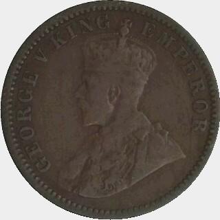 1916-I Mule Half Penny obverse
