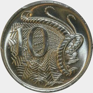 1981  Ten Cent reverse