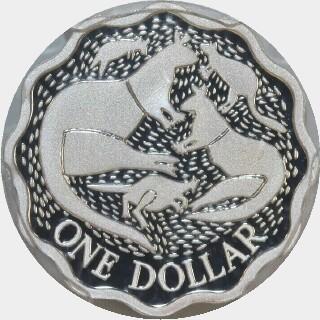 2004 Proof One Dollar reverse