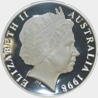 1998 Proof Ten Dollar obverse