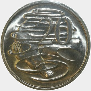 1980  Twenty Cent reverse
