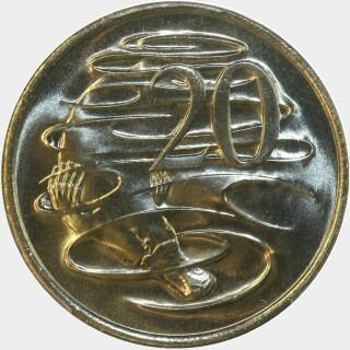 1979  Twenty Cent reverse