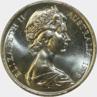 1979  Twenty Cent obverse
