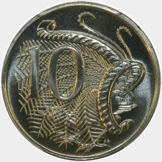 1988  Ten Cent reverse