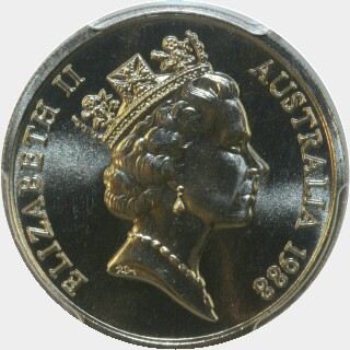 1988  Ten Cent obverse