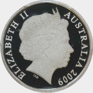 2009 Proof Five Cent obverse