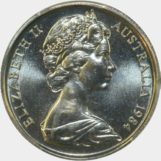 1984  Five Cent obverse