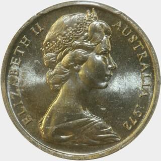 1972  Ten Cent obverse