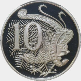 2010 Proof Ten Cent reverse