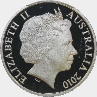 2010 Proof Ten Cent obverse