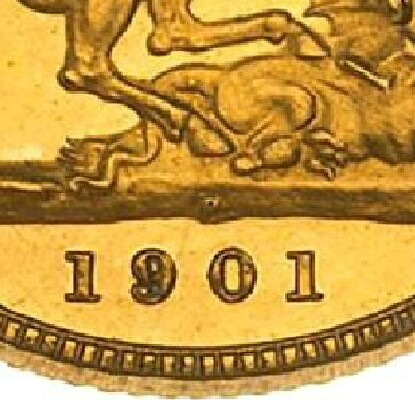 Reverse: Perth Mint 'P' mintmark in the centre of the ground, below the horse's hooves and above the date.