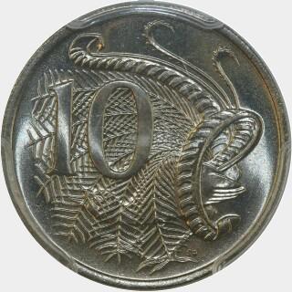 1982  Ten Cent reverse