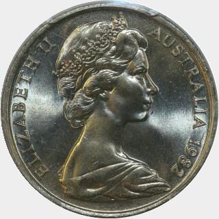 1982  Ten Cent obverse