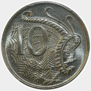 1977  Ten Cent reverse