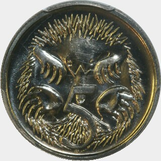 1989  Five Cent reverse