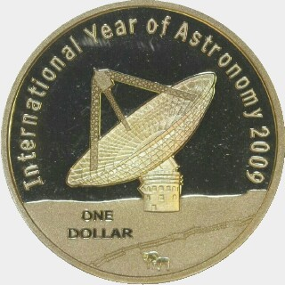 2009 Proof One Dollar reverse