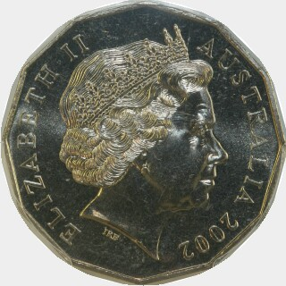 2002  Fifty Cent obverse