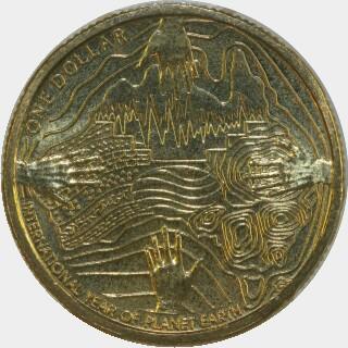 2008  One Dollar reverse