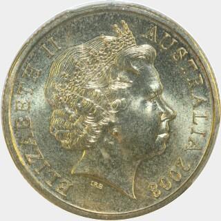 2008  One Dollar obverse