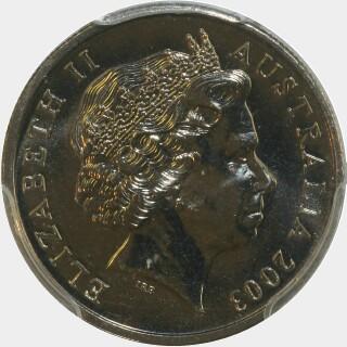 2003  Five Cent obverse