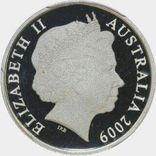 2009 Proof Ten Cent obverse