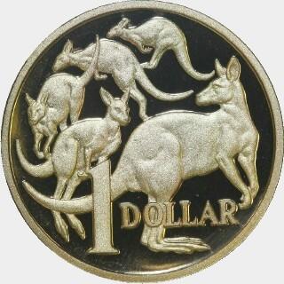 2010 Proof One Dollar reverse