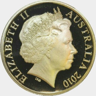 2010 Proof One Dollar obverse