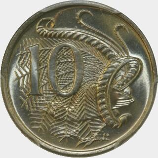 1978  Ten Cent reverse
