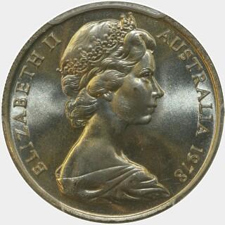 1978  Ten Cent obverse