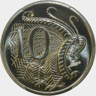 1986  Ten Cent reverse