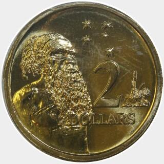1999  Two Dollar reverse
