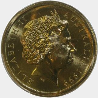 1999  Two Dollar obverse
