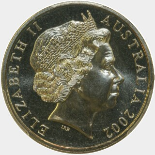 2002  Twenty Cent obverse