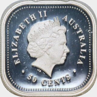 2002-P Proof Silver Fifty Cent obverse