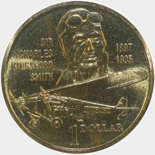 1997  One Dollar reverse