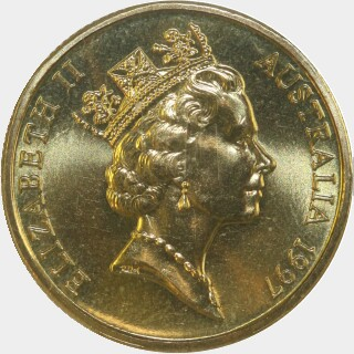 1997  One Dollar obverse