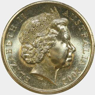 2002  One Dollar obverse