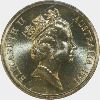 1991  Two Dollar obverse