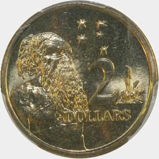 2005  Two Dollar reverse