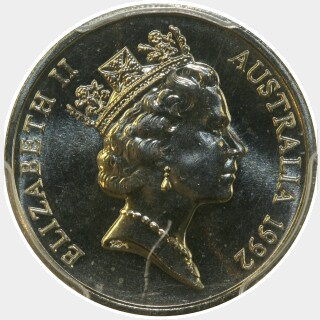 1992  Ten Cent obverse