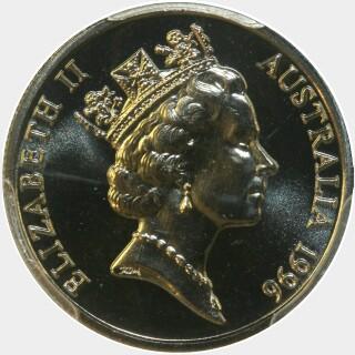 1996  Five Cent obverse