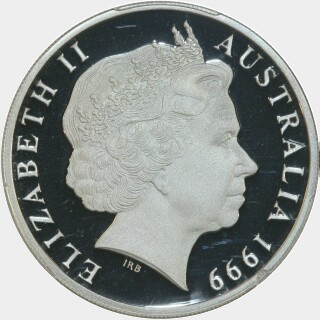 1999 Silver Proof Two Dollar obverse