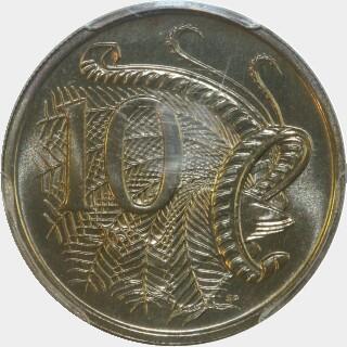 1983  Ten Cent reverse