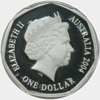 2004 Proof One Dollar obverse