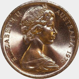 1975  One Cent obverse