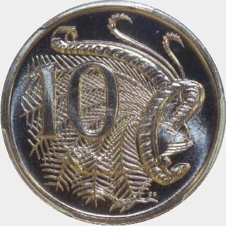 1989  Ten Cent reverse