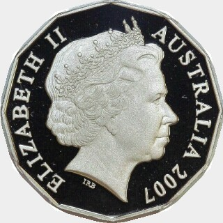 2007 Proof Fifty Cent obverse
