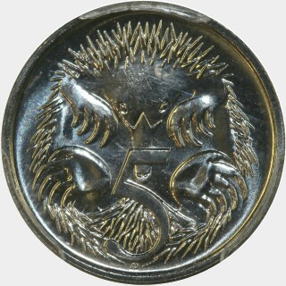 1994  Five Cent reverse